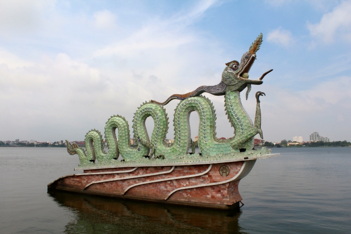 Dragon on West Lake, Hanoi