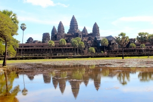 Starting a half marathon as the sun comes up over Angkor Wat is a memory I'll treasure forever