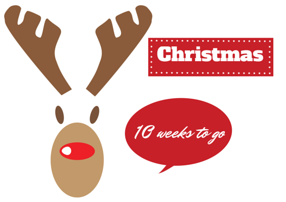 christmas countdown 10 weeks to go