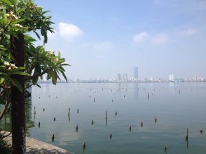 West Lake Hanoi - the morning we left in June 2014