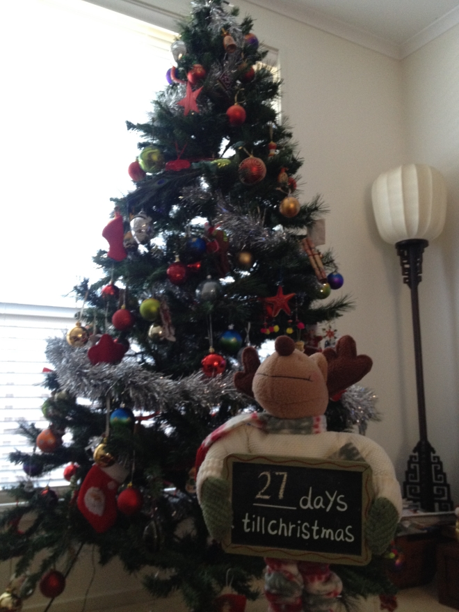 Our first Barossa Christmas tree
