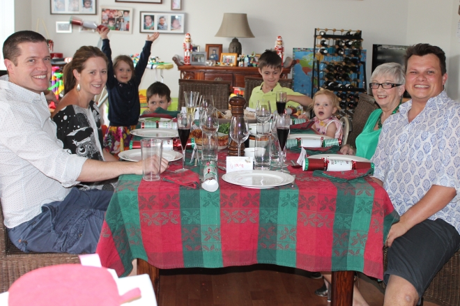 First Barossa Christmas with the family