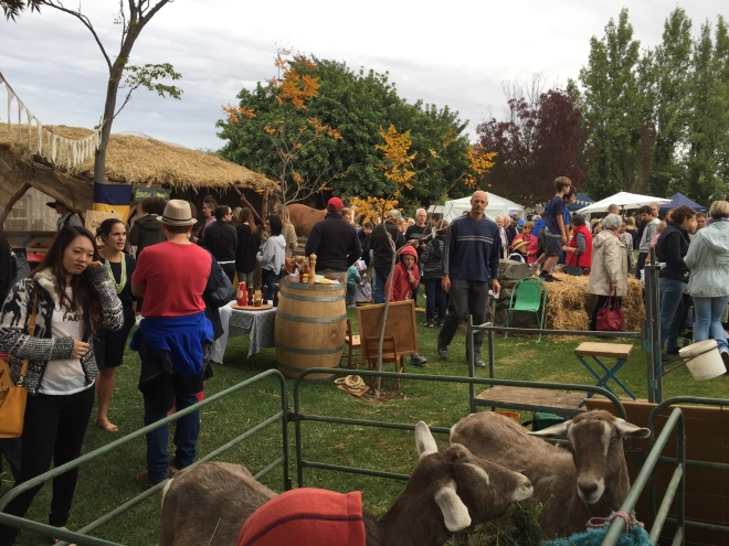 Ziegenmarkt, Goat Square Tanunda April 16, 2015