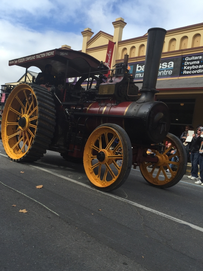 Vintage Steam Tractor - winner of the Best Vintage Vehicle