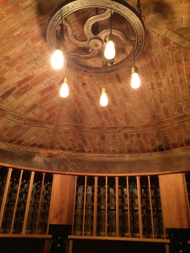 Underground cellar at Langmeil