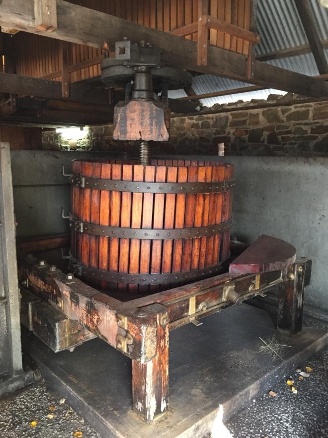 Basket press at Rockford