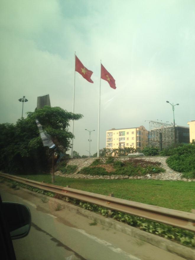Leaving Hanoi, June 2014