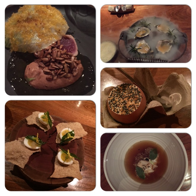 A selection of the dishes we enjoyed recently at Hentley Farm