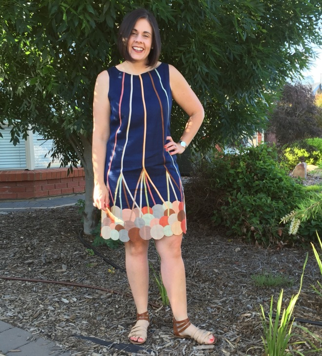 After my Whole30 - only 3.1kilos gone but the centimetres made the difference. I hadn't worn this dress in over a year