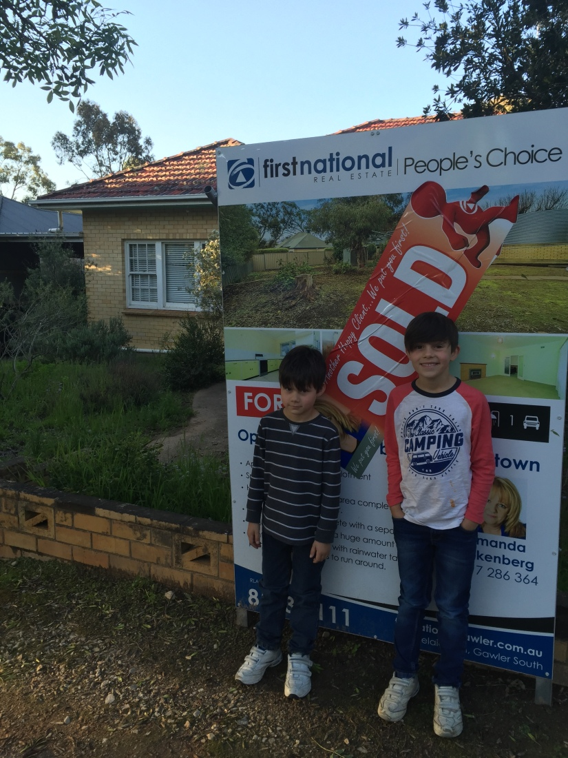 A new home in theBarossa